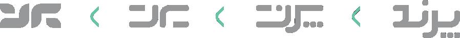 تایپوگرافی لوگوی گروه فناوری پرند